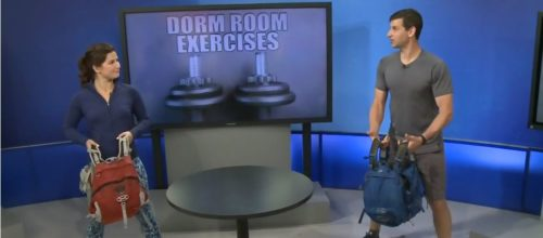 CTV Morning Live Ottawa News segment- Dorm Room exercises